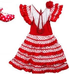 Robe fillette Flamenca