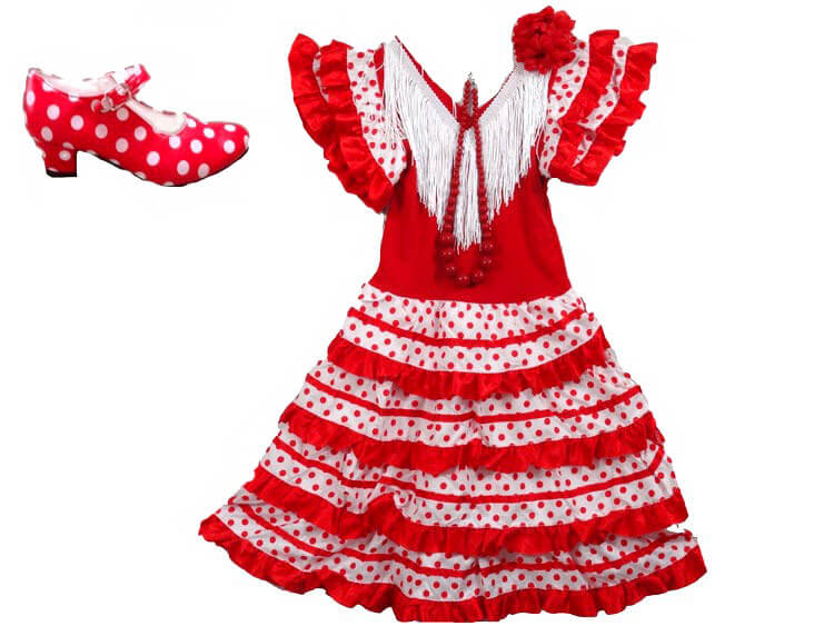 Robe fillette Flamenca