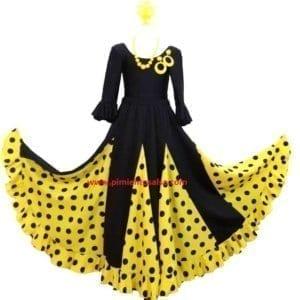 Jupe de sévillane ,flamenco fille