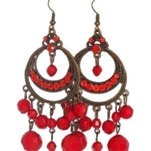 Boucle d'oreille flamenco