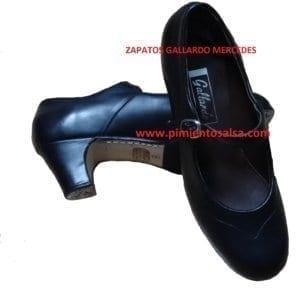 Chaussure deb Flamenco Gallardo