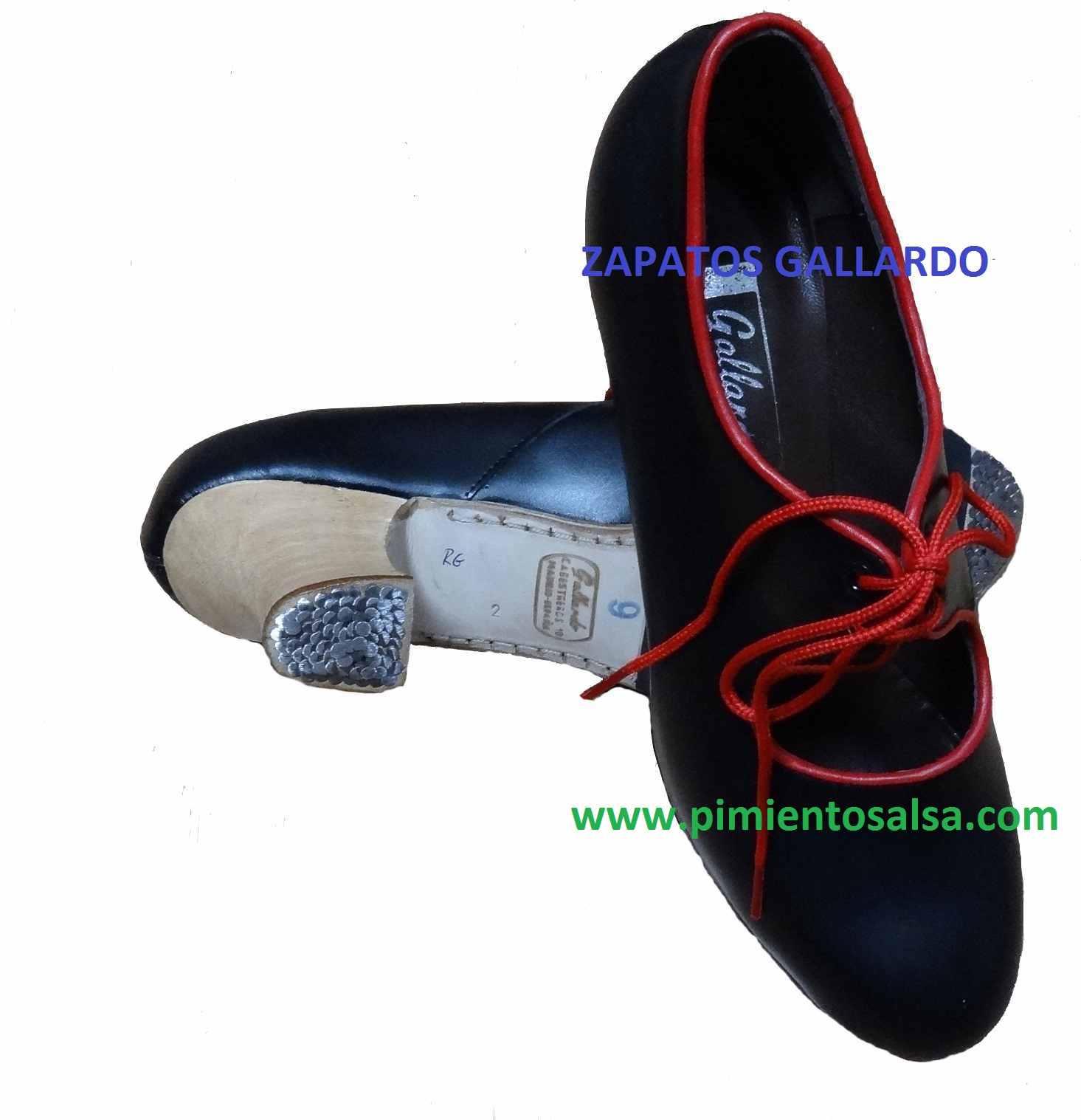 Chaussure de flamenco Gallardo