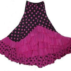 jupe de flamenco femme