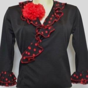 Coeur croisé Flamenco