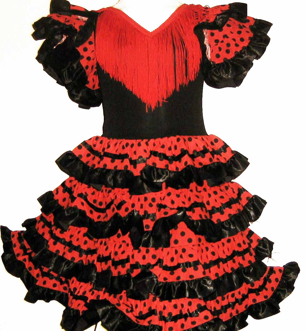 Robe filletette pour danser le flamenco