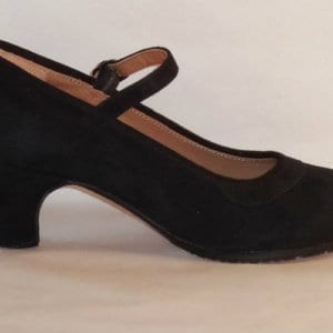 Chaussure de Flamenco professionnelle en daim