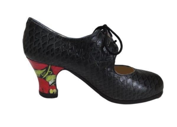 Chaussure Begoña cervera cordonera serpinte