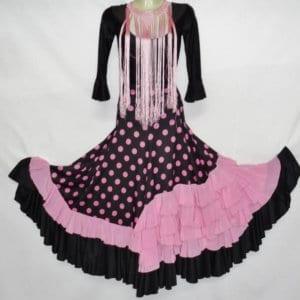 Falde de Flamenco para niña