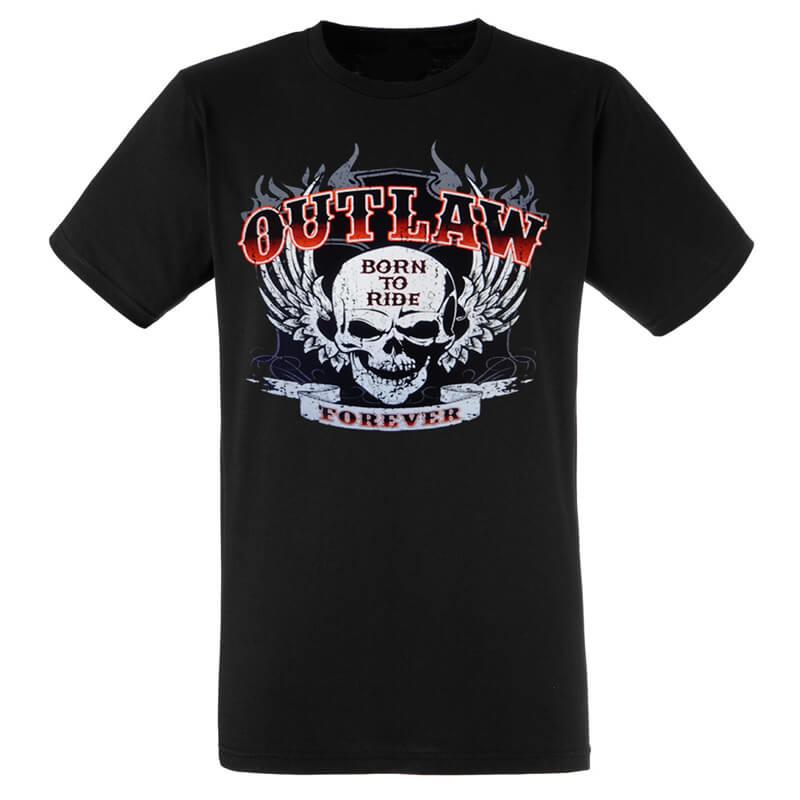 T shirt biker Usa