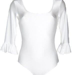 Body Flamenco femme blanc